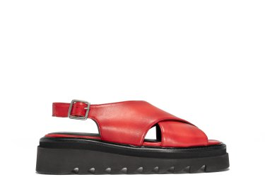 1LAYER106, LEATHER | RED
