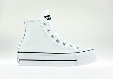 Nyc leather-white ceramic-white