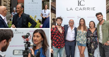 La Carrie Pink Event #ROMPIAMOILSILENZIO highlights