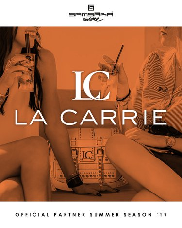 Co-branding La Carrie e Samsara Beach per l'estate 2019