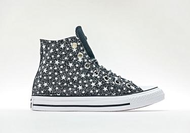Black-glitter microstars