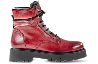 2IRON215, LEATHER | RED-BLACK