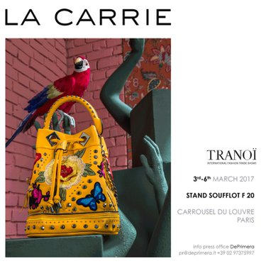 La Carrie Fall Winter 2017-18 @ Tranoï, Parigi