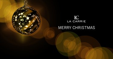 La Carrie wishes you Happy Holidays!