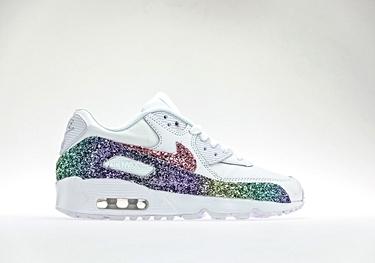Ltr degrade' glitter multicolor