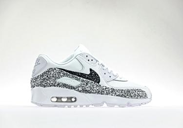 Ltr silver glitter